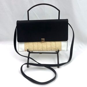 A New Day Crossbody Bag Clutch Black Colorblock